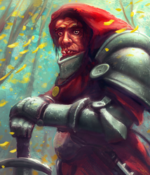 Malformed Knight by merbel