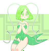 mew lettuce // by orchidi