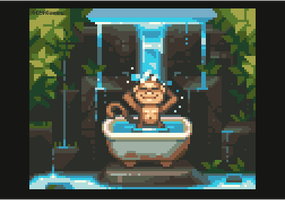 Jungle Bathtub by AlbertoV