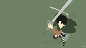 Levi Ackerman#2 {Shingeki no Kyojin} by greenmapple17