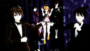 Five Nights at Freddy's by MMDMotionsAndPoses