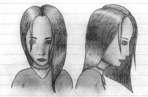 Female Face Study by Caligari-87