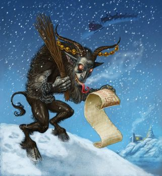 Krampus by Hungrysparrow