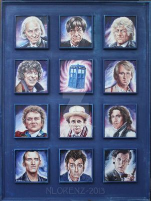 The Doctors and the TARDIS: 50th Anniversary by napalmnacey
