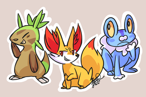 NEW STARTERS by ClefdeSoll