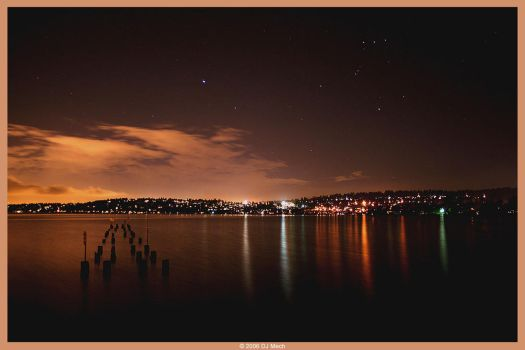 Lake Washington Nights by DJ-Mech