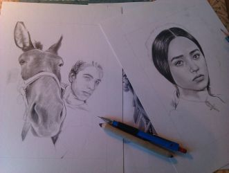 two works in progress by Ebba28