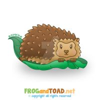 Herisson - Hedgehog FROGandTOAD by FROG-and-TOAD