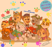 PAW patrol - We are forever brothers by AO-2-NICK