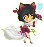 [League Of Legends] Ahri the Nine-Tailed Fox by Tsiki10