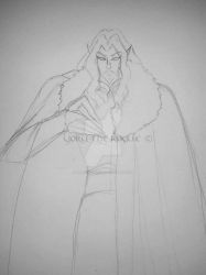 WIP - The Lord of Vampires [sketch] by Yoru-the-Rogue