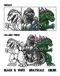G-Fest 2015 Goodies pt 2 - Sketchies by AlmightyRayzilla