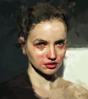 portrait by ibesevic
