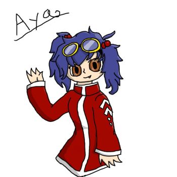 Aya :P by KittyCake2004