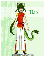 Arhkis - OC Ref - Tiao by Norieh