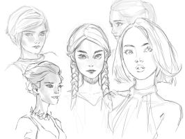 Sketching Faces by medders