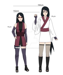 Uchiha Sarada designs by shinauchiha