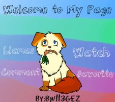 Welcome to My Page! by bw113gez