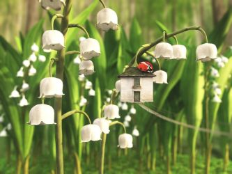 Lily of the Valley by curious3d