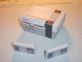 nes papercraft by AUSTINMEADOWS