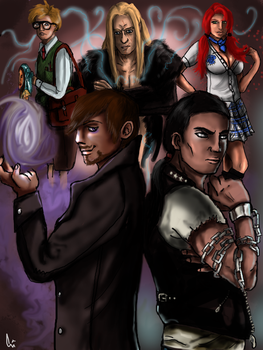 :: Heroes :: by The-Ebony-Phoenix