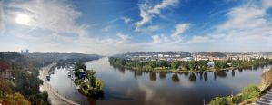 Vyshehrad Pano by chaoscollapse