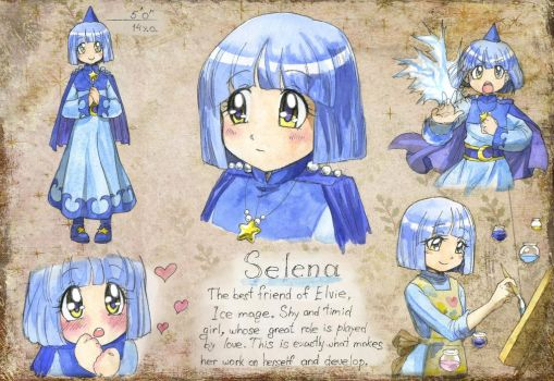 OC Page - Selena by TomoeOtohime