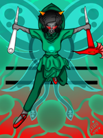 Terezi Pyrope the Seer of Mind by ShinjitsuForever