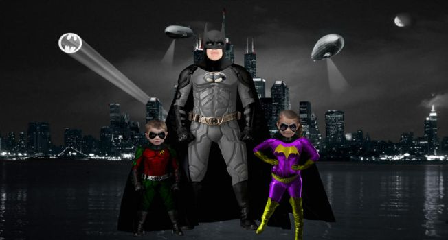 Batman-Family Picture by Render88