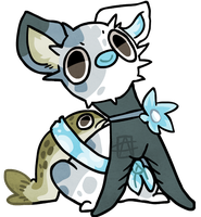 3Puff Puffshimi_Trout POINTs AUCTION CLOSED by griffsnuff