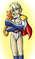 Power Girl and Family by dragonsong12