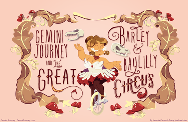 The Great Barley and Bay-Lily Circus : Title Card by Saetje