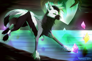 Crystalize | Commission by Strayay