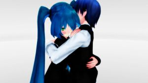 .:MMD:. Hug Pose Download (OPEN) by MMD-Maker-Studio