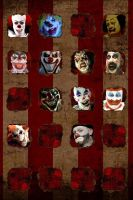 Coulrophobia (Fear of Clowns) Wallpaper by TheScarecrowOfNorway