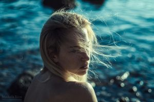 Martina and the Sea by Michela-Riva