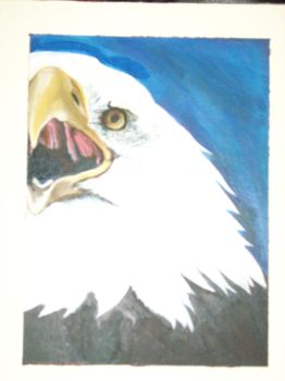 Finished Eagle by BlueLucied