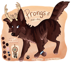 Com: Prongs Ref by xWolfPrincex