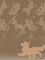 Wallpaper~ Poochina In Brown by Pokelobo