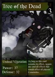 NecroMasters - GYG - 021 - Tree of the Dead by PlayboyVampire