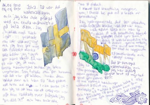 Journal: Flags by YlvaKarlberg