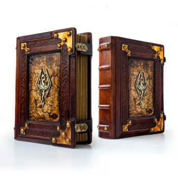 Skyrim leather journal... by alexlibris999