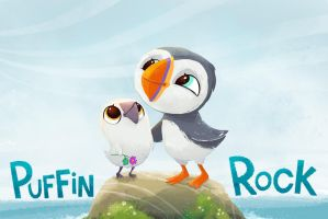 Puffin Rock by NiG3L