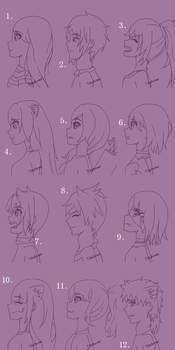 Headshot Requests #3 by TikaAnime