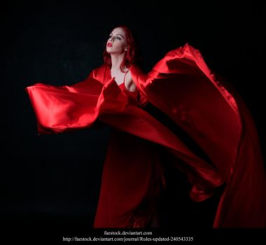Red silk 6 by faestock
