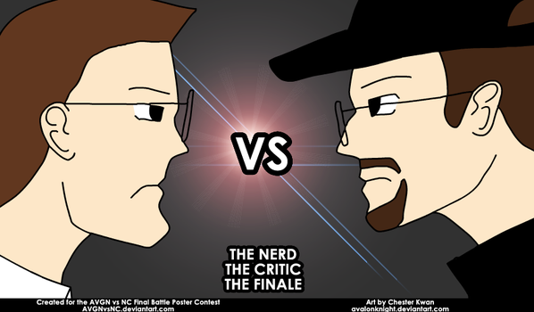 AVGN vs NC Poster Entry 2 by avalonknight