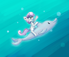 Dreaming of dolphins by SenxShine