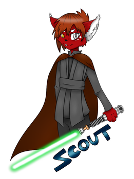 Scout Jedi Badge by pulchra-mortuus