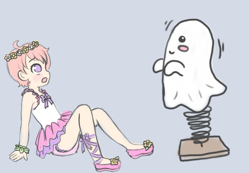 SPOOPY GHOSTS! by Pastel-Hime