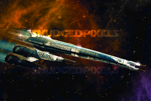 Normandy SR2 by SmudgedPixelsArt
